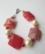 Stikla pērļu rokassprādze